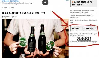 Reklamer = DP